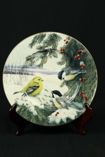 "Lenox ""Winter Greeting Scene"" Plate"