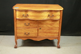 Mahogany Washstand Base with Drawers & Claw Feet