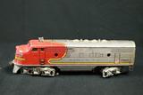 Santa Fe Lionel Train