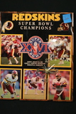 Redskins Super Bowl Champs XXVI Plaque