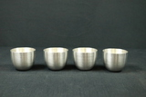 4 Kirk Stieff Pewter Cups