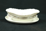 4 Porcelain Bone Dishes