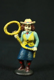 Cast Iron Cowgirl Bottle Opener