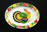 Enamelware Turkey Plate