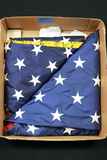 Box of 2 American Flags