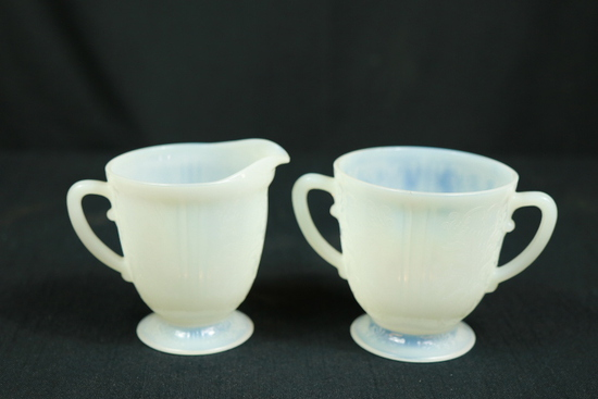 Depression Era Sugar & Creamer