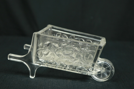 Glass Wheel Barrow