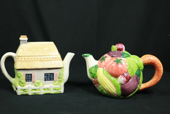 2 Tea Pitchers