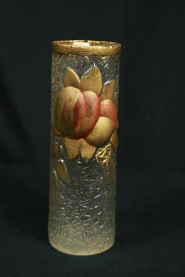 Goofus Glass Vase