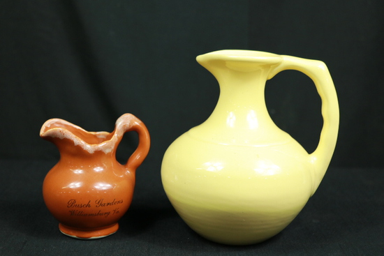 Yellow Pitcher, Brown Pitcher