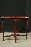 Cherry Finish 4 Leg Table