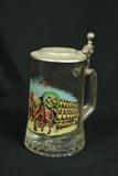 Glass Beer Stein
