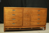 Mid Century Modern Oak Dresser