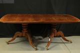Henredon Double Pedestal Mahogany Dining Table