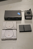 Nintendo Game Cube with 1 Controller, 2 Orignal Playstations, playstation 2 with Controllers