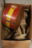 Box of Straps, Metal Gas Can