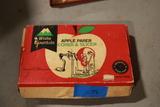 Vintage Apple Peeler