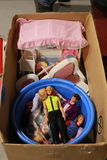 Box of Barbies, Doll Furniture