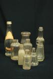 9 Assorted Glass Bottles