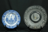Independence Hall Plate, Pressed Glass Plate
