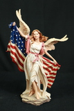 Home Interiors patriotic Figurine