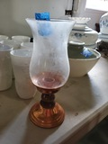 Copper Candle Stick with Shade