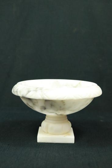 Alabaster Footed Bowl