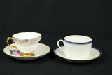 2 Cups & Saucers