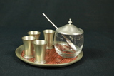 Hors D'oeuvre Dish, 4 Cups, Tray