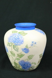Signed Hand Painted Vase