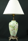 Signed Hand Painted Lamp
