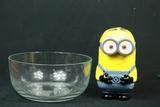 Minion Piggy Bank & Glass Bowl
