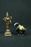 Porcelain Horse & Brass Statue