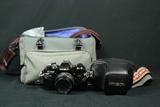 Minolta X-700 Camera In Leather Case