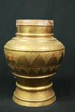 Ornate Brass Pot