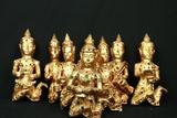 8 Hanging Wall Figurines