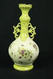 German Hand Painted Vase