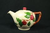 Fransican Apple Pattern Teapot