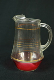 Gold Banded Pitcher