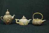 3 Teapots
