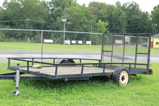 12 Ft. Landscape Trailer