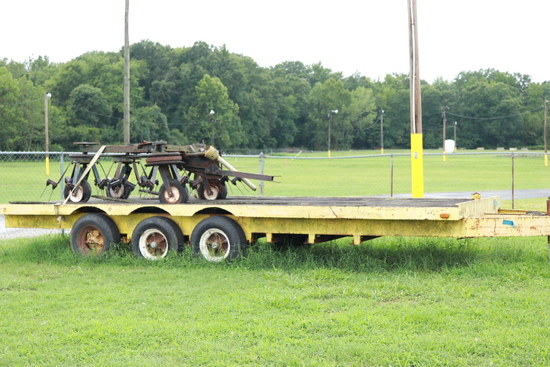 20FT Triple Axle Trailer
