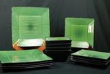 10 Plates & 4 Bowls