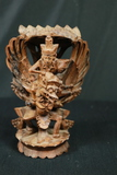 Asian Wood Carved Figurine