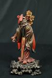 Wood Carved Oriental Figurine