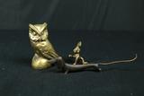 3 Brass Figurines