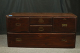 Antique Asian 5 Drawer Chest