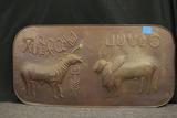 Copper Wall Plaque