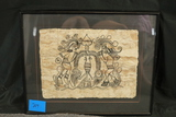 Framed Egyptian Drawing