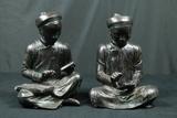 2 Oriental Figurines